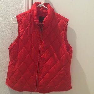 Puffy Vest - Size Large